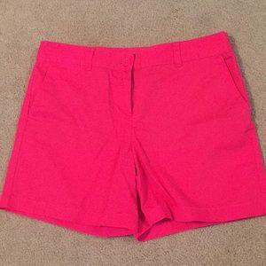 """LOFT Khaki 6"""" Shorts Size 10 Watermelon Color"""